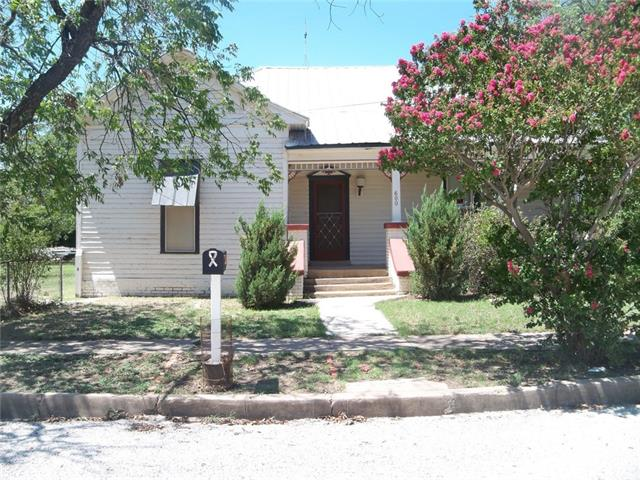 600 S Frio Street, Coleman, TX 76834