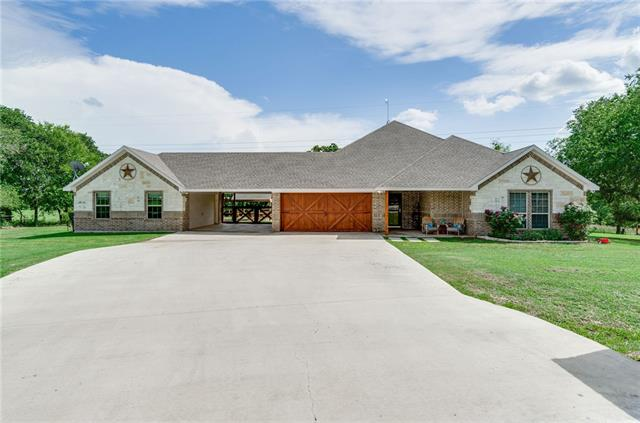 172 Smokey Terrace Lane, Weatherford in Parker County, TX 76085 Home for Sale