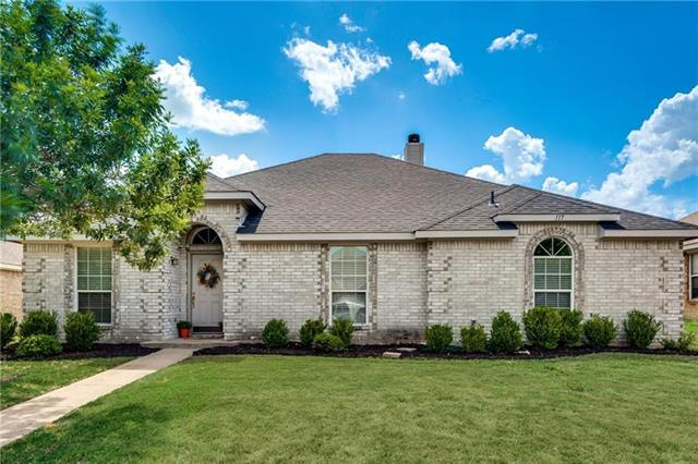 117 Clover Leaf Lane Red Oak, TX 75154