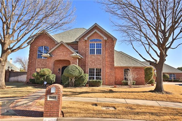 2409 Spyglass Hill Court Abilene, TX 79606