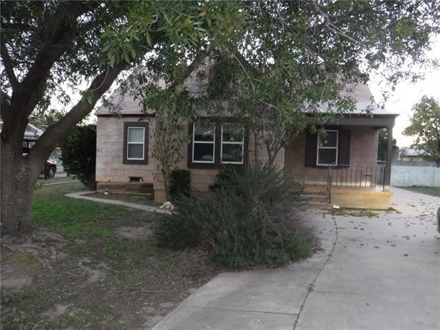 1507 Runnels Street Big Spring, TX 79720