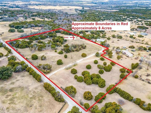 2121 Floyd Road, Weatherford in Parker County, TX 76087 Home for Sale