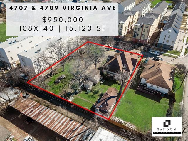 4707 Virginia Avenue Dallas, TX 75204