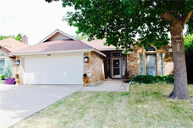 447 Pebblecreek Drive, Keller, Texas