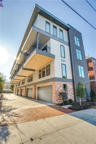 One of Dallas Uptown 3 Bedroom Homes for Sale at 2127 Clark Street