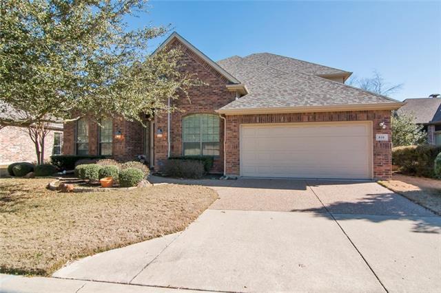 810 Barton Springs Drive, Fairview, Texas