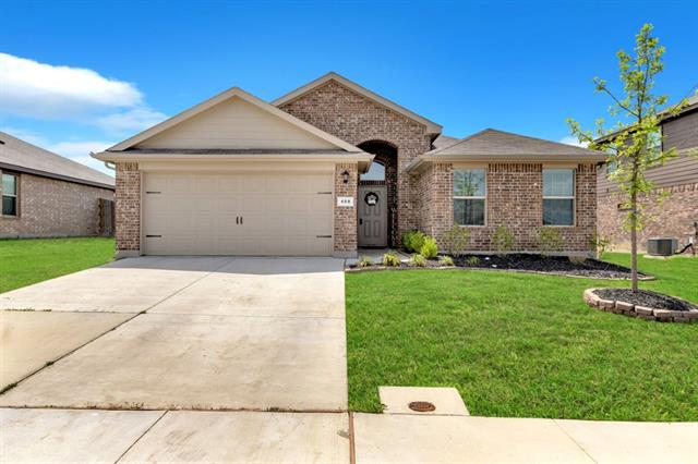 408 Saratoga Lane Ponder, TX 76259