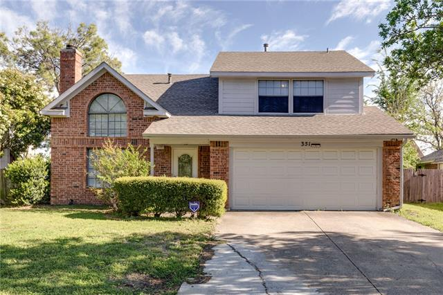 351 Hopewell Street, Grand Prairie in Dallas County, TX 75052 Home for Sale