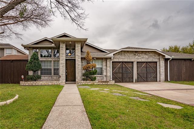 831 Over Ridge Drive, Grand Prairie in Dallas County, TX 75052 Home for Sale
