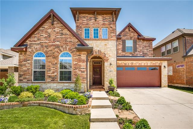 224 Lilypad Bend, Argyle in Denton County, TX 76226 Home for Sale