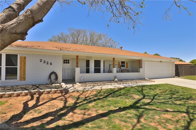 2226 Robertson Drive, Abilene, TX 79606