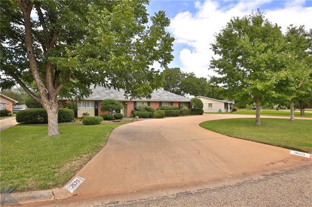 3570 Hunters Glen Road, Abilene, TX 79605