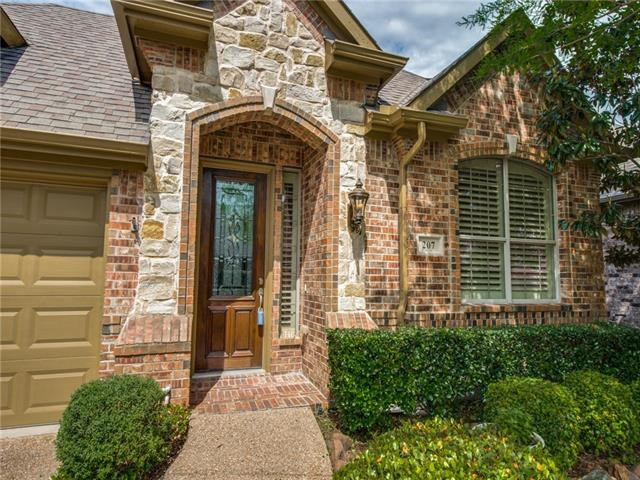 207 Pine Valley Court, Fairview in Collin County, TX 75069 Home for Sale
