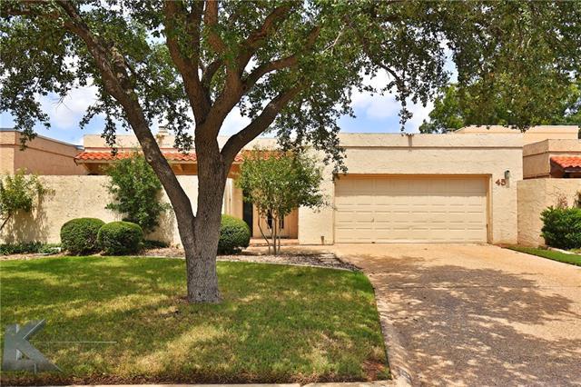 45 Tamarisk Circle Abilene, TX 79606