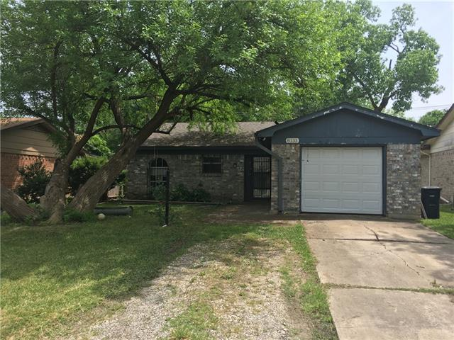 8133 Carlos Street White Settlement, TX 76108