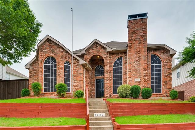 1822 Oak Bend Lane, Garland in Dallas County, TX 75040 Home for Sale
