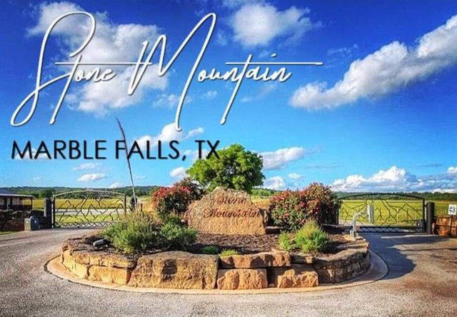 Lot 3b Stone Mountain, one of homes for sale in Marble Falls