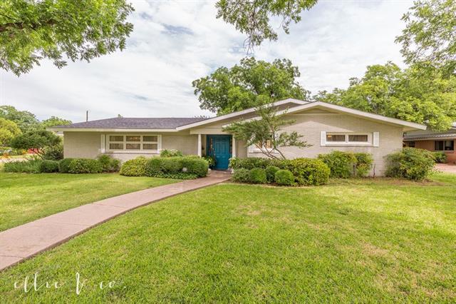 1801 Sylvan Drive Abilene, TX 79605