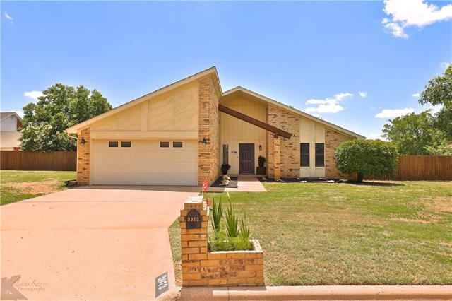 3073 Chimney Rock Road, Abilene, TX 79606