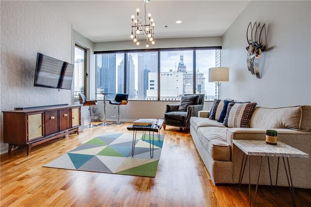 One of Dallas Downtown 2 Bedroom Homes for Sale at 1200 Main Street
