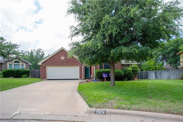 7574 Ruby Esther Circle Abilene, TX 79606