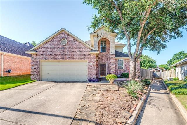 709 Ashbrook Court, Euless in Tarrant County, TX 76039 Home for Sale
