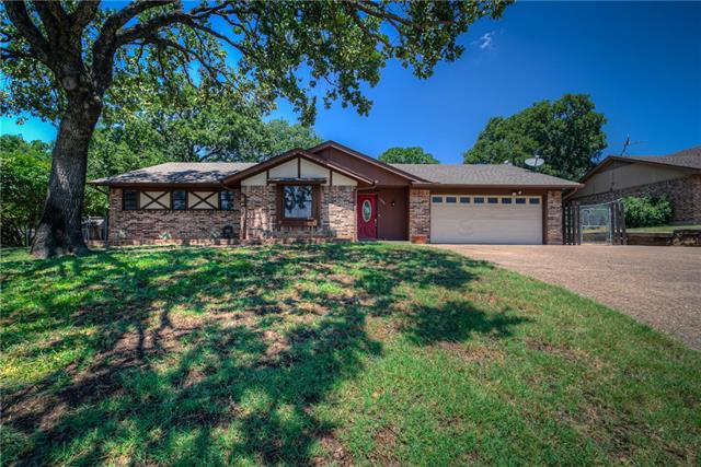 345 Shady Lane, Eagle Mountain in Tarrant County, TX 76020 Home for Sale