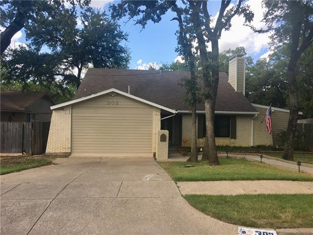 302 Shelmar Drive, Euless in Tarrant County, TX 76039 Home for Sale