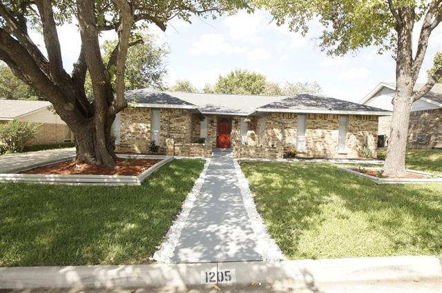 1205 Denmark Drive, Grand Prairie in Dallas County, TX 75050 Home for Sale