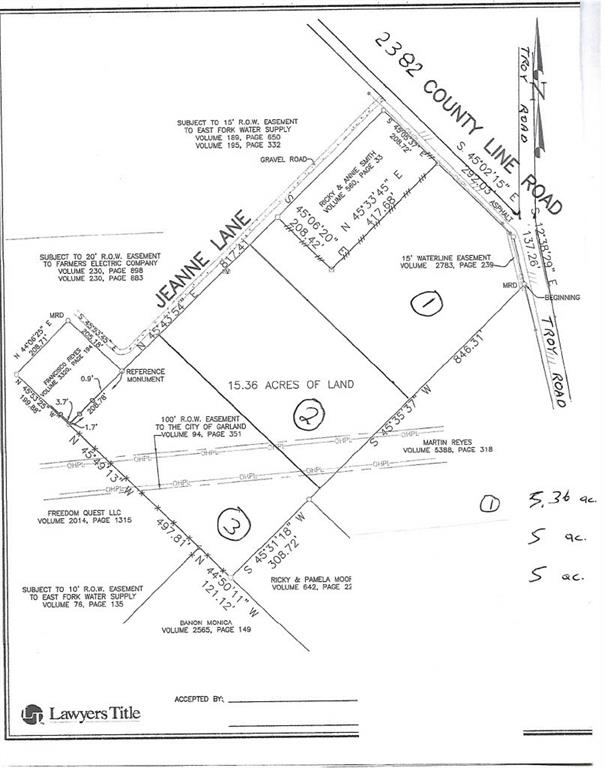 2382 SE COUNTY LINE Road, Wylie, Texas