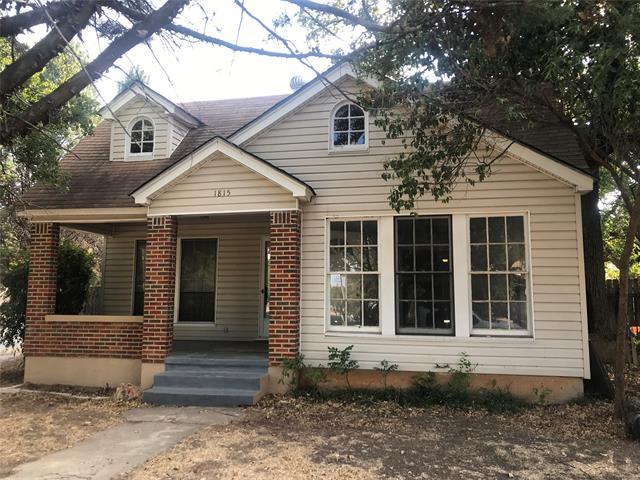 1815 Vincent Street, Brownwood, TX 76801