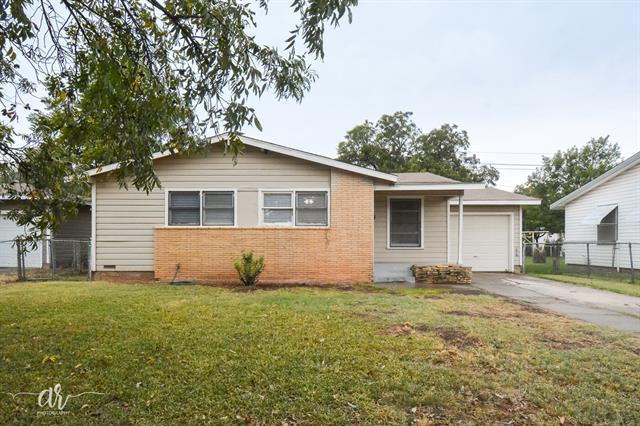 1134 Shelton Street, Abilene, TX 79603
