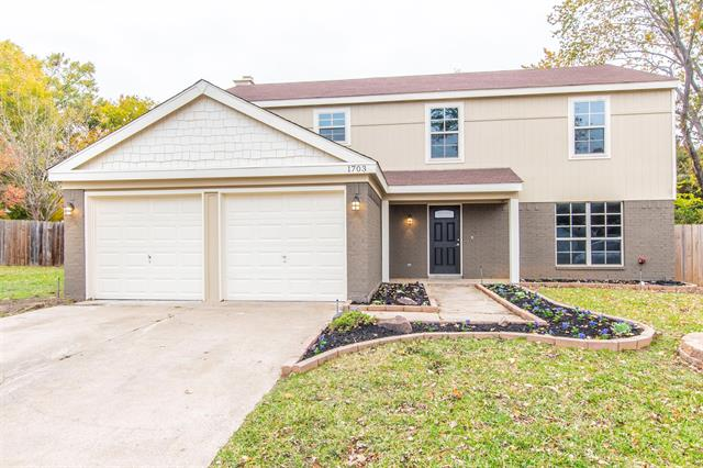 1703 Tangleridge Court, Euless in Tarrant County, TX 76039 Home for Sale