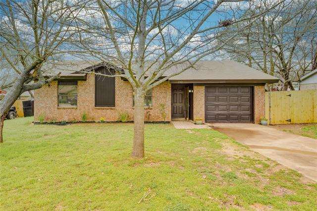 248 Mountain View Drive, Eagle Mountain in Tarrant County, TX 76020 Home for Sale