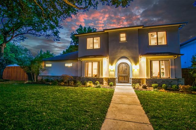 One of Preston Hollow 4 Bedroom Homes for Sale at 3898 Van Ness Lane