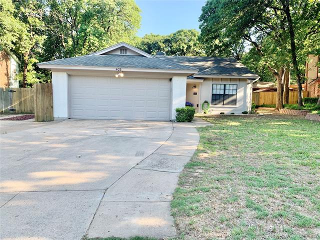 408 Greenleaf Drive, Eagle Mountain in Tarrant County, TX 76020 Home for Sale