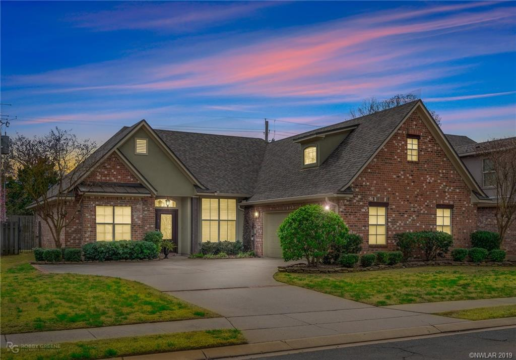 One of Bossier City 4 Bedroom Homes for Sale at 220 Gloucester Drive