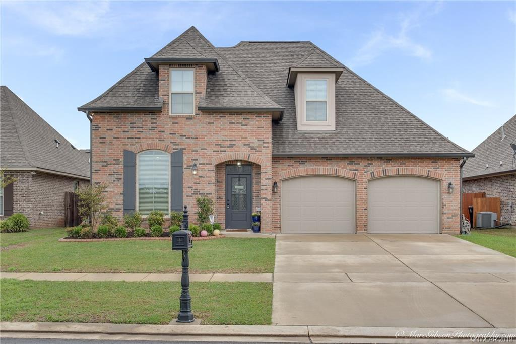 One of Bossier City 4 Bedroom Homes for Sale at 606 Tunica Trail
