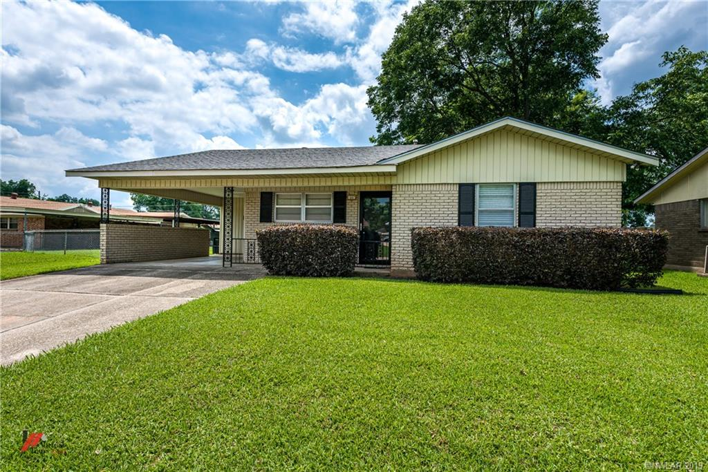 One of Bossier City 2 Bedroom Homes for Sale at 1803 Dennis Street