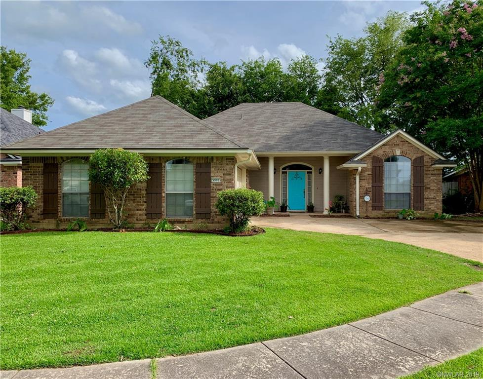 One of Bossier City 3 Bedroom Homes for Sale at 5902 Summerville Lane