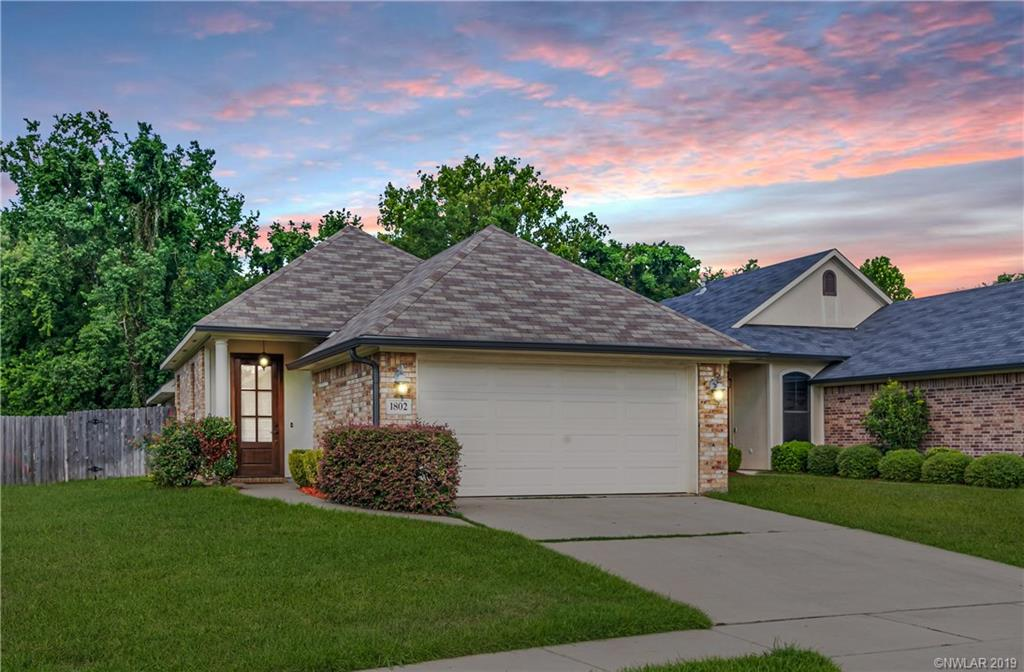 One of Bossier City 3 Bedroom Homes for Sale at 1802 Wild Rose