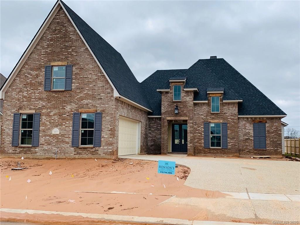 One of Bossier City 4 Bedroom Homes for Sale at 607 Dumaine Drive