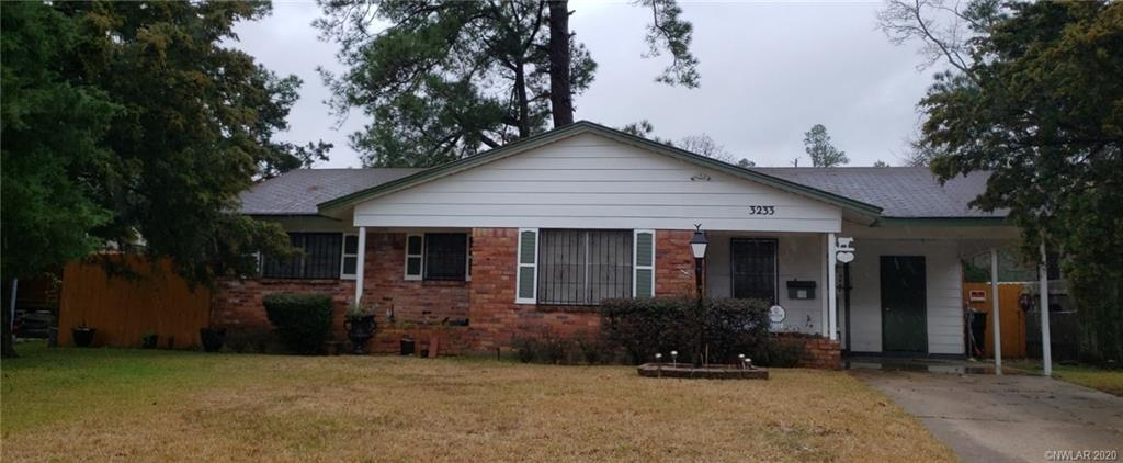 3233 Valley View Drive, Shreveport, Louisiana