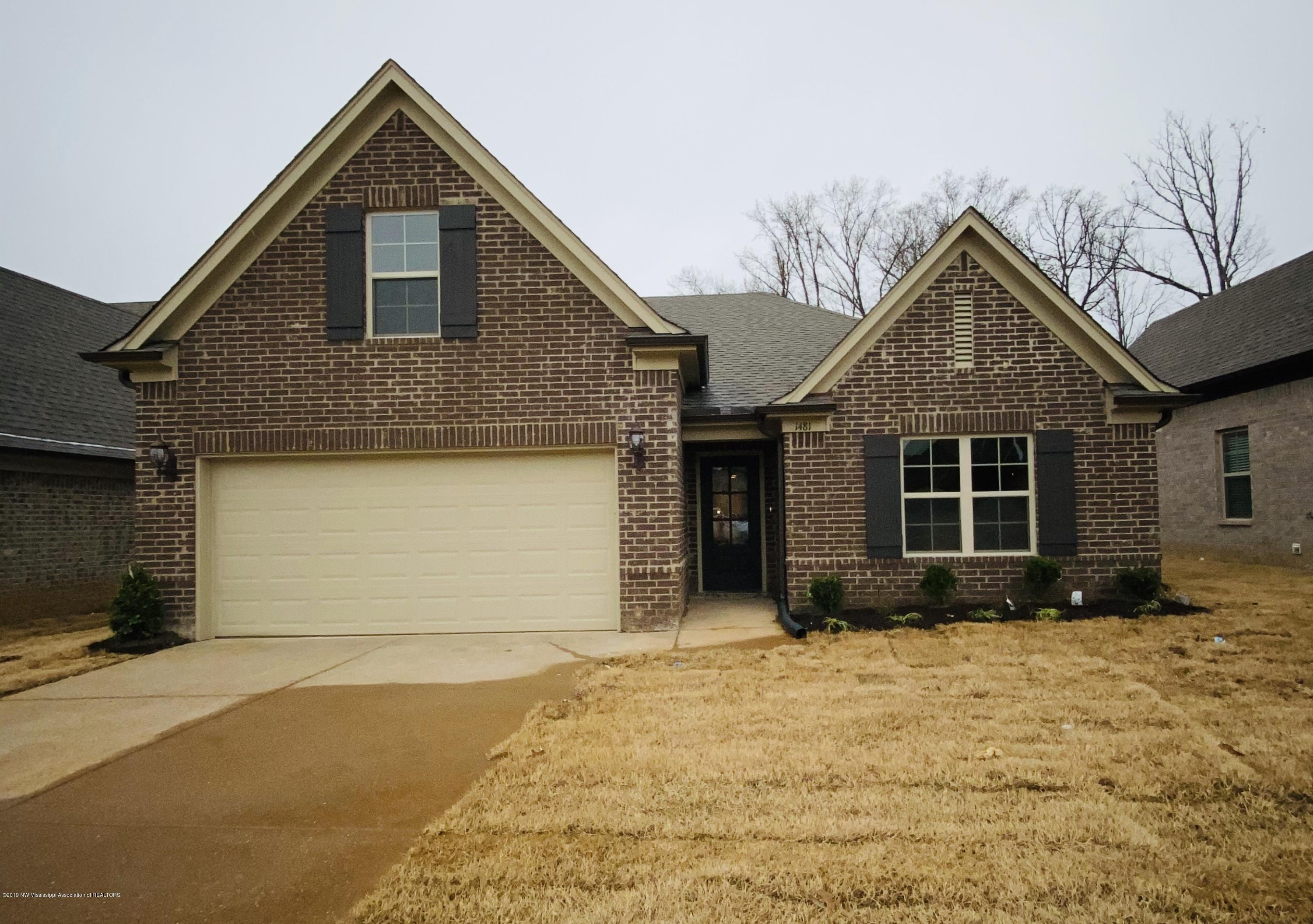 1481 Switzer Cove, Southaven, Mississippi
