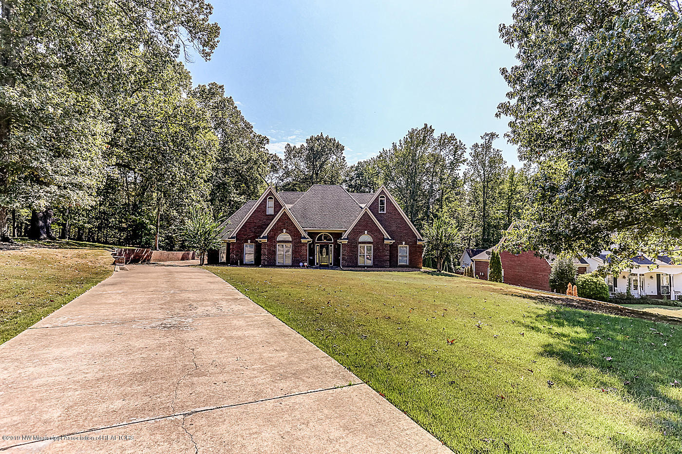 One of Olive Branch 4 Bedroom Homes for Sale at 9663 Miranda Drive