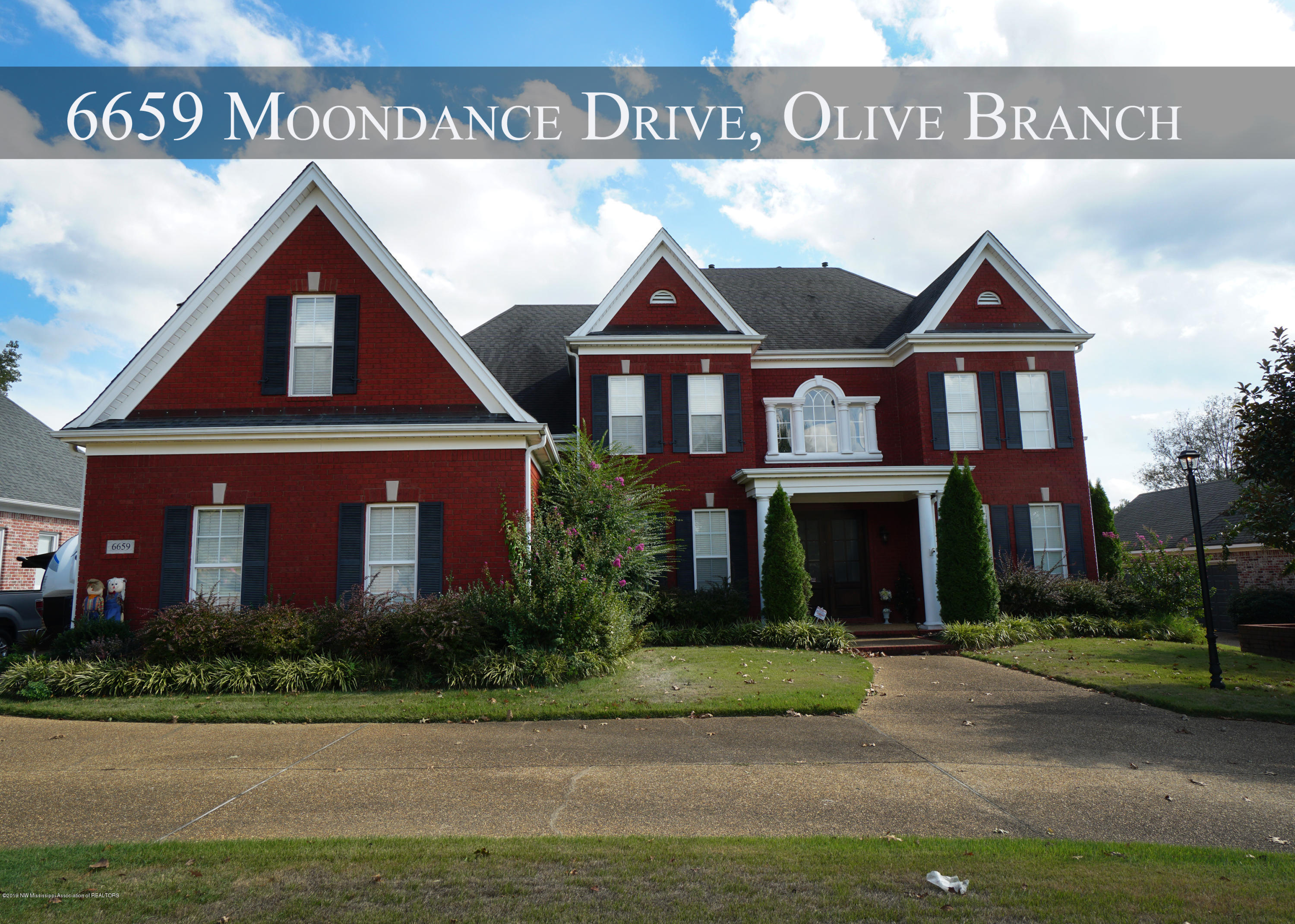 6659 Moondance Drive, one of homes for sale in Olive Branch