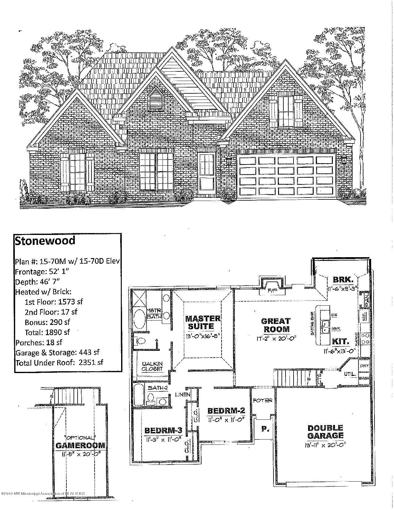3790 W Dawnwood Circle, Southaven, Mississippi
