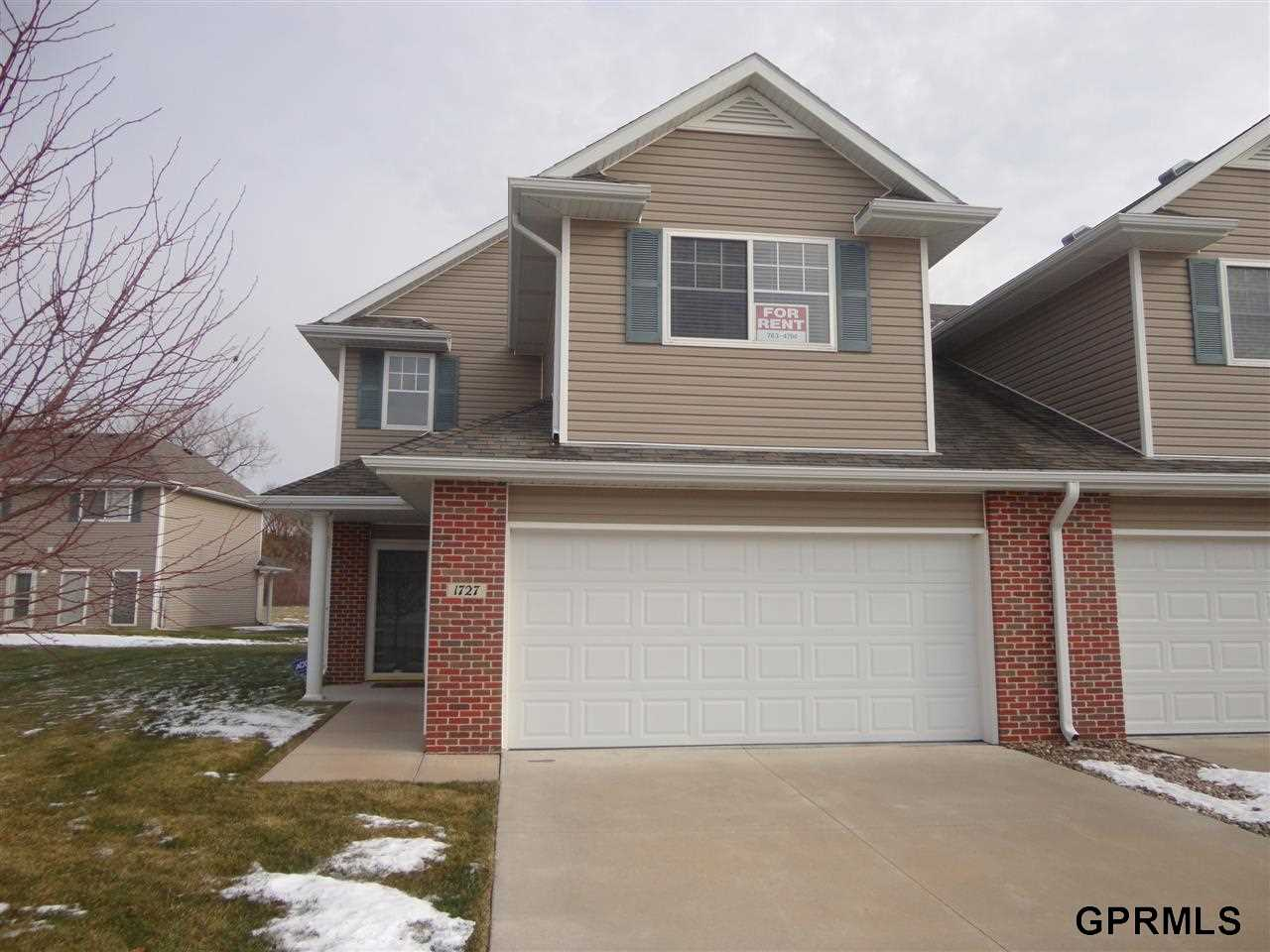 Rental Homes for Rent, ListingId:30806981, location: 1727 N 175th Court Omaha 68118