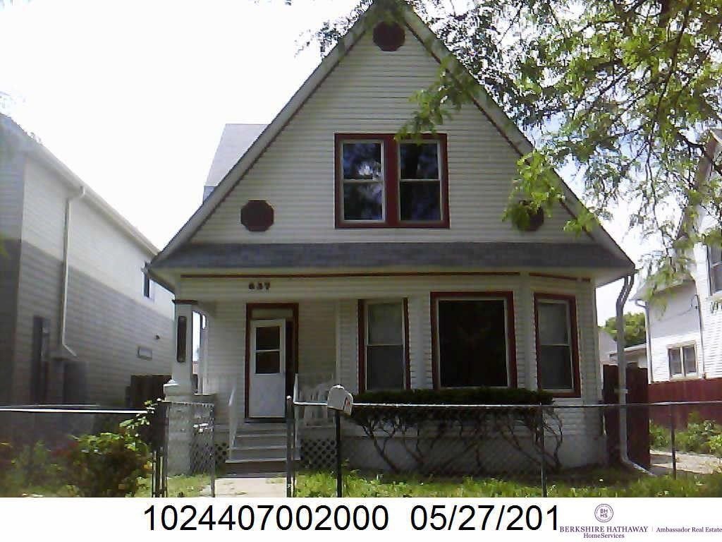 Photo of 637 N 24 Street  Lincoln  NE