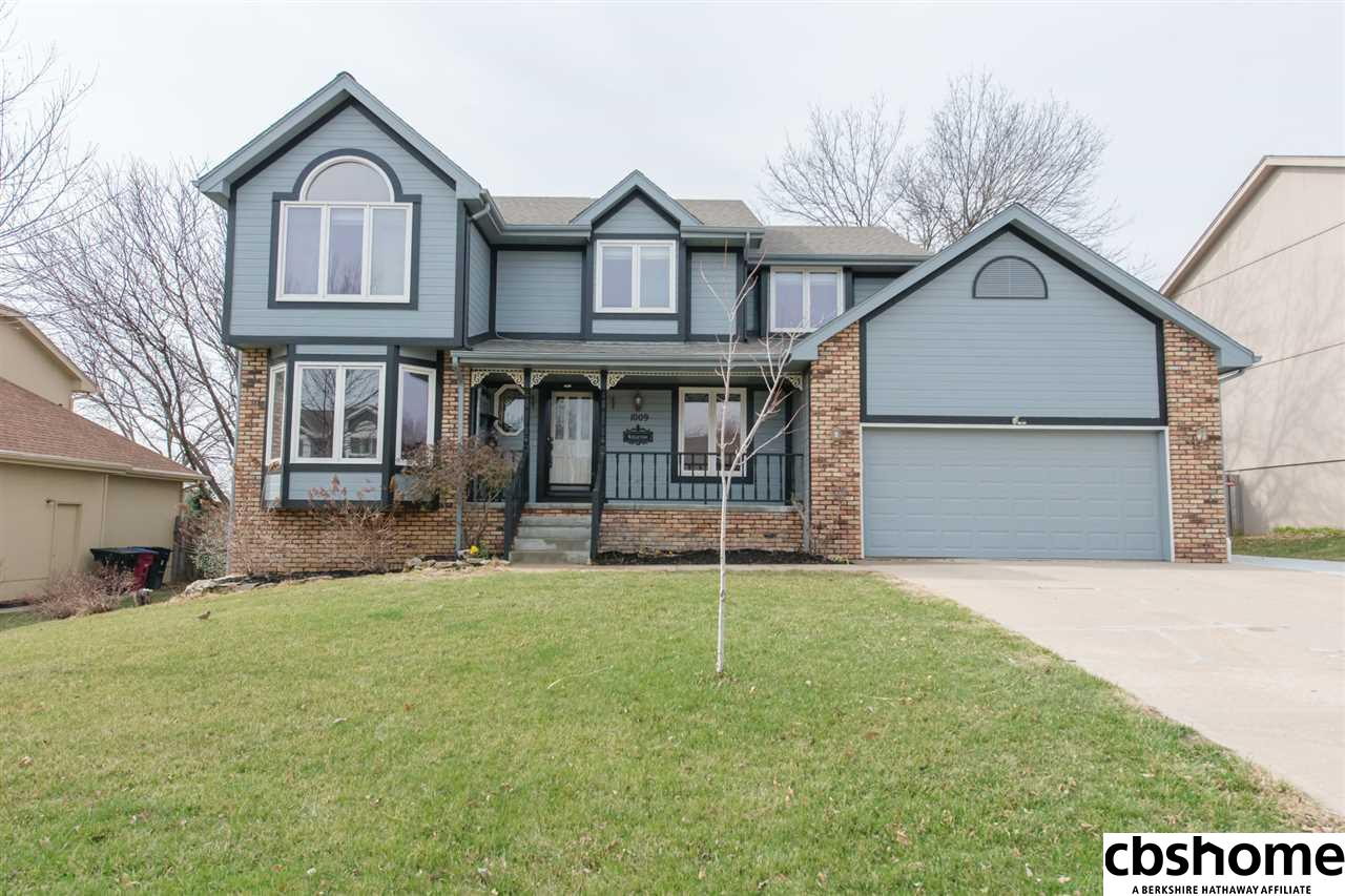 1009 Creighton Road, Papillion in  County, NE 68046 Home for Sale